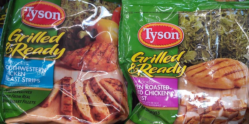 Chicken Recipes Using Tyson Grilled & Ready Chicken Products