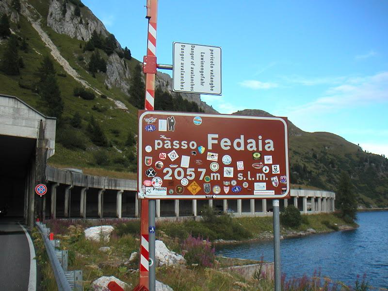 Dolomites • Passo Fedaia
