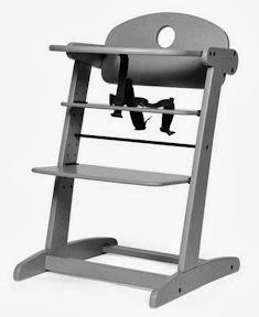 chaise haute en bois netsy de natineo le test cubes petits pois. Black Bedroom Furniture Sets. Home Design Ideas