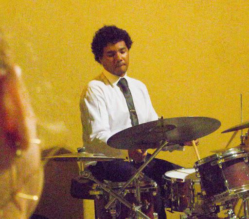Percusión en un trío de Jazz