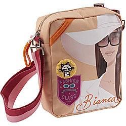 """bolso con una de las """"chicas"""" Labanda: Bianca"""