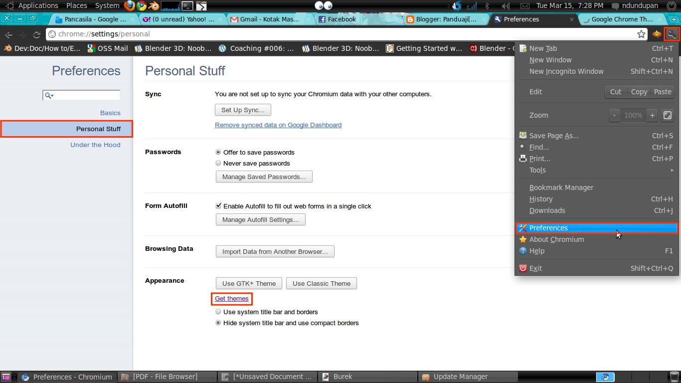 Chromium Browser Theme 2