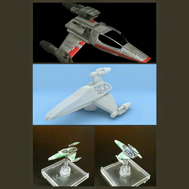 T-Wing de Mel Miniatures