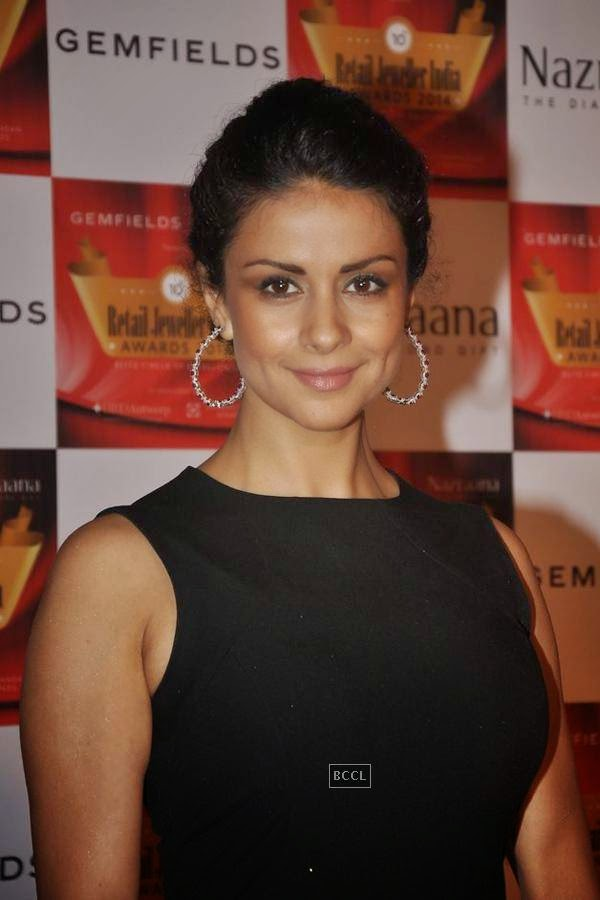 Gul Panag during the 10th Annual Gemfields and Nazraana Retail Jeweller India Awards, 2014, in Mumbai, on July 19, 2014. (Pic: Viral Bhayani)