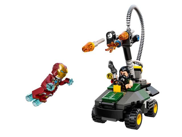 76008 レゴ スーパーヒーローズ アイアンマン vs. マンダリン 究極のショーダウン