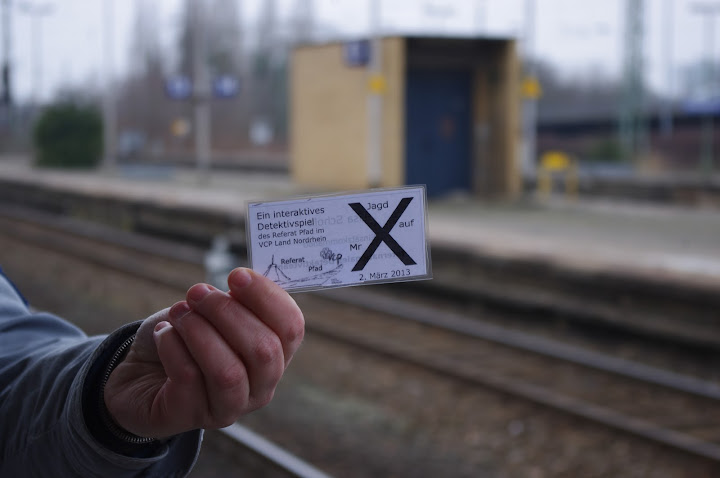 Jagd auf Mr X 2013