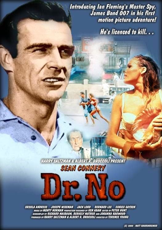 Poster Of Dr. No (1962) Full Movie Hindi Dubbed Free Download Watch Online At alldownloads4u.com