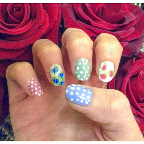 #photoamay-challenge-instagram-flowers-manicure-cath-kiston