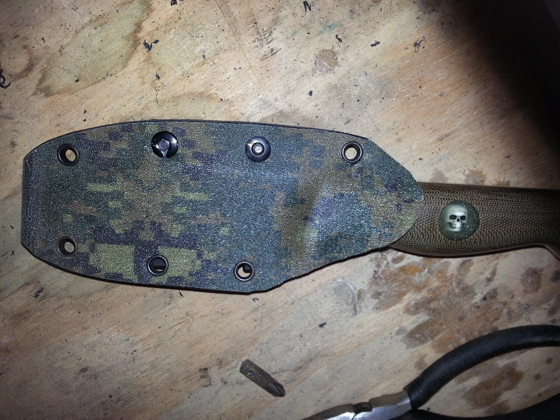 Kydex sheath for Turley Knife