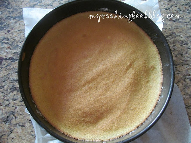Пандишпанов блат (платка) за торта