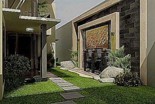 desain taman di belakang rumah gallery taman minimalis