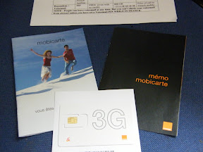 French SIM Cards Orange Mobicarte