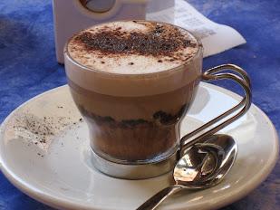Coffee in Cinque Terre