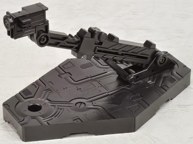 Chân đế dựng mô hình Gundam Action Base 2 Black linh hoạt