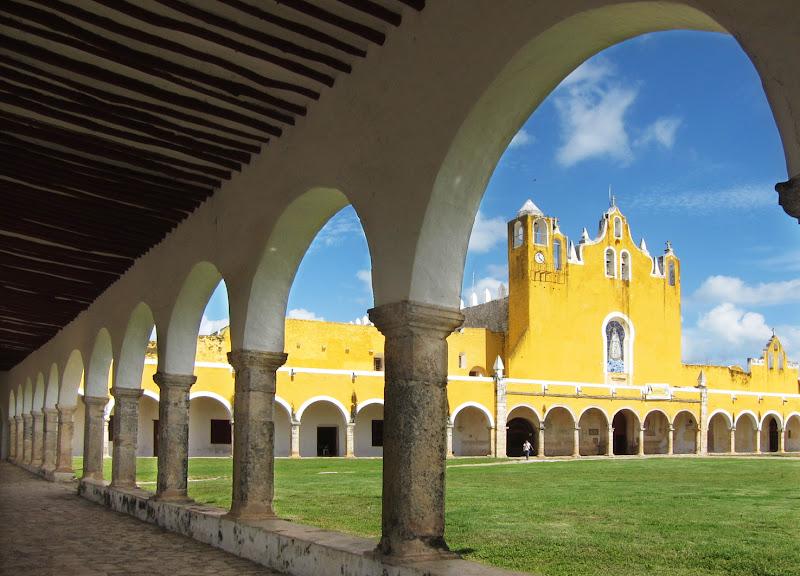 Monastery in Izamal, Yucatan