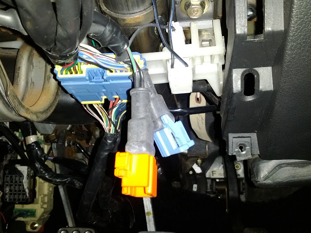airbag wiring harness removed air bag harness trying to hook up the horns rx7club  removed air bag harness trying to