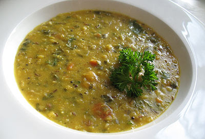 Madras-Style Red Lentil Soup