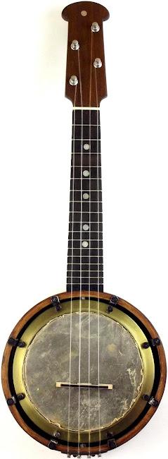 Sunray Acoustic bracketless Banjolele Banjo Ukulele