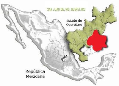 Ubicación de San Juan del Río