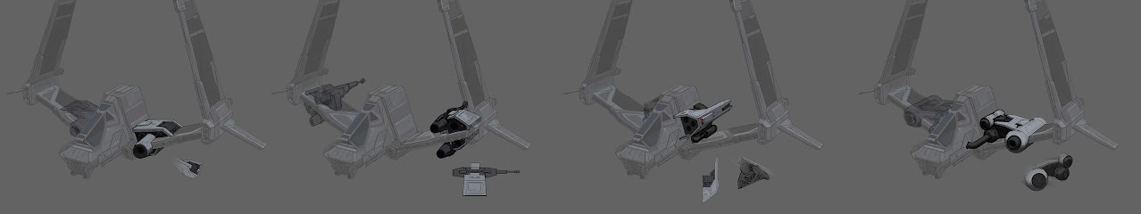 Imperial Strike Fighter Weapons