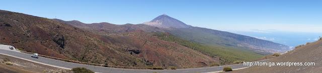 Widok na Pico del Teide