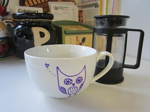 owl mugs christmas crafts
