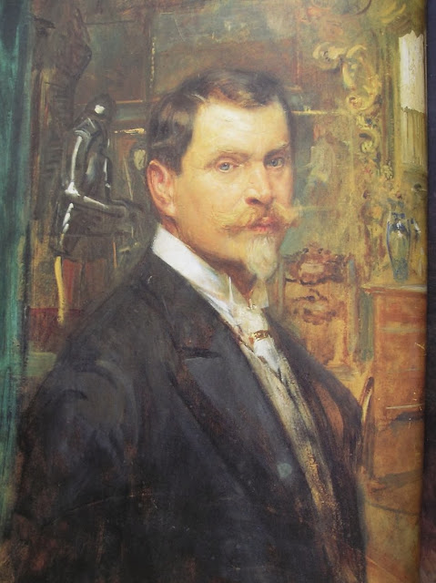 Eduard Veith - Self-Portrait