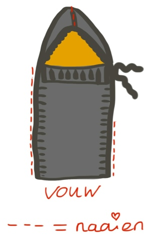 Icrochetstuff Easy Trappelzak Met Voering