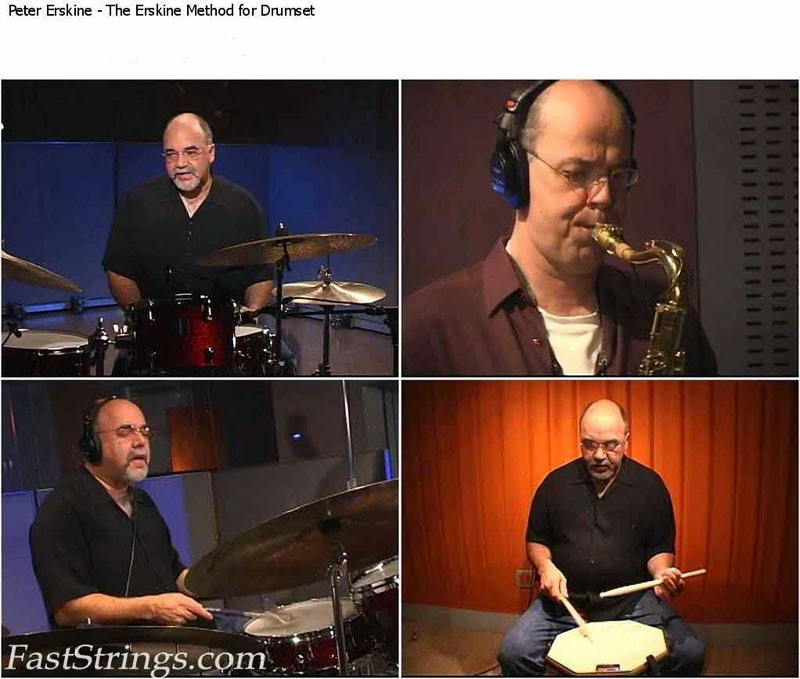 Peter Erskine - The Erskine Method for Drumset