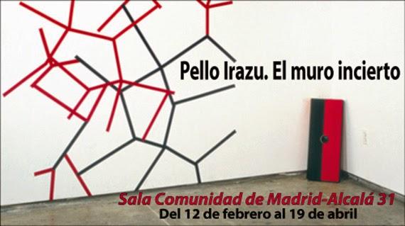 Exposición 'Pello Irazu. El muro incierto' en la Sala Alcalá 31