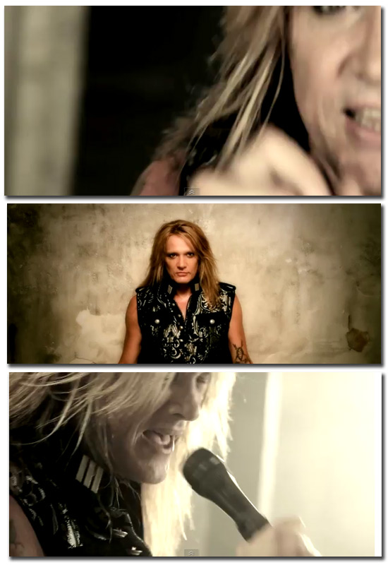 Sebastian Bach está de volta. Assista ao vídeo de Kicking and Screaming