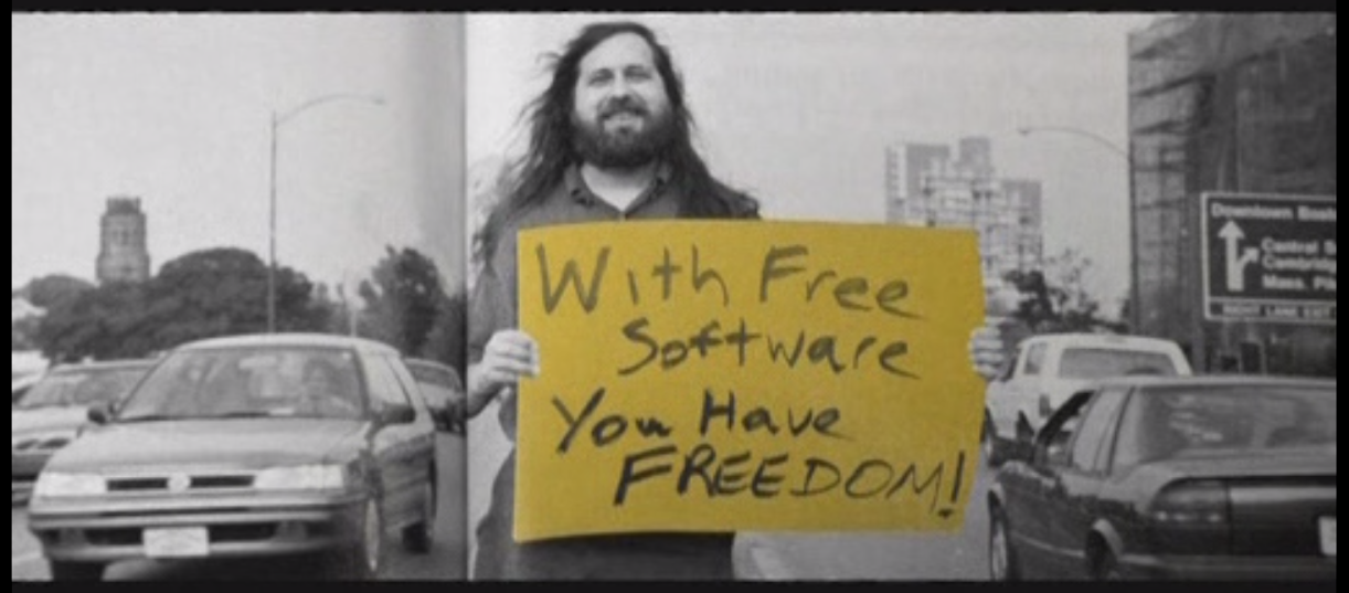 With Free Software you have Freedom