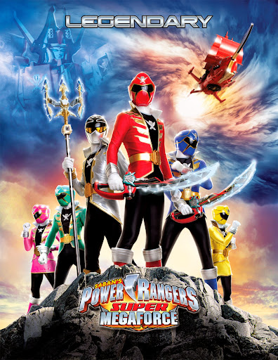 Siêu Nhân Megaforce - Power Rangers Super Megaforce