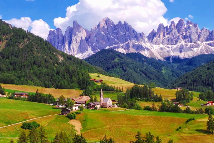 Valle de Funes, Italia