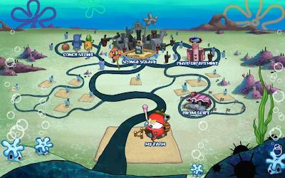 Play Spongebob Car Racing Games