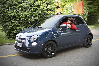 Fernando Alonso and the Fiat 500 TwinAir