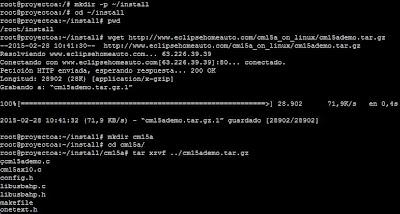 Instalar cm15ademo en Linux Ubuntu Server