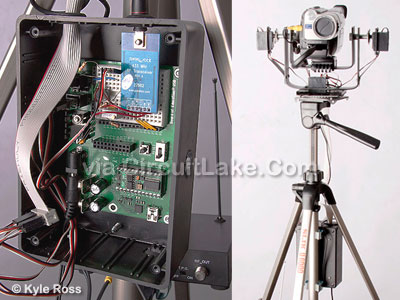 Camcorder IR remote control project
