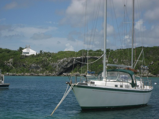 Cave mouth at Little Harbour, Abacos