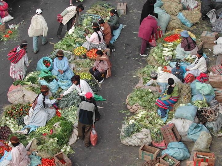 Mercados paceños