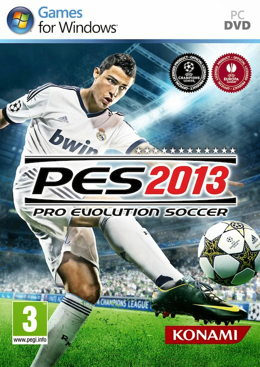Cover Of Pro Evolution Soccer (PES) 2013 Full Latest Version PC Game Free Download Resumable Links at alldownloads4u.com