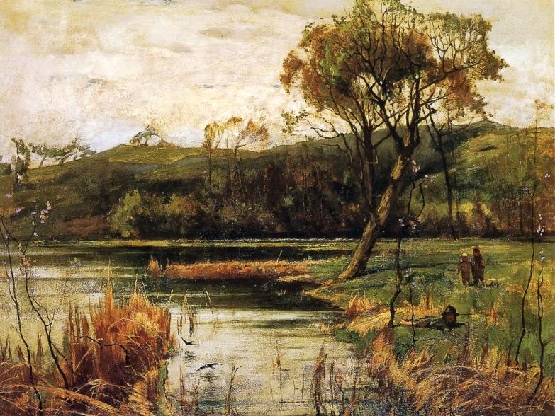Emil Carlsen - The River Bank