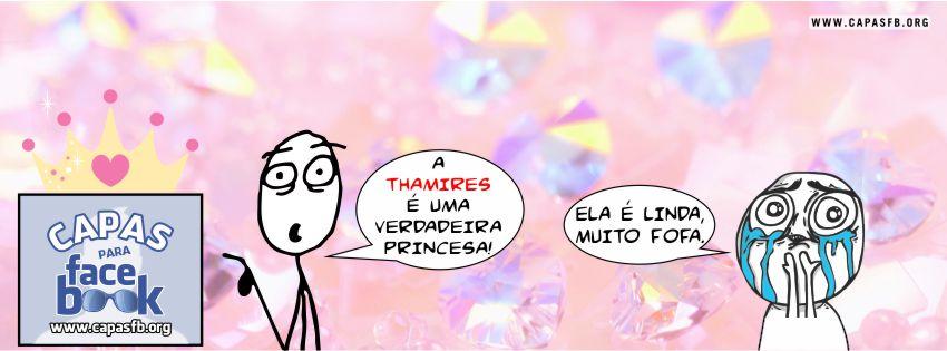 Capas para Facebook Thamires