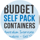 Budget Self Pack Containers Info