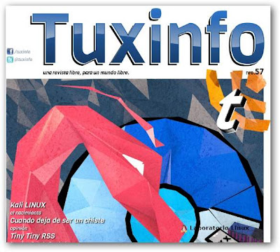 Revista TuxInfo Nº 57 disponible
