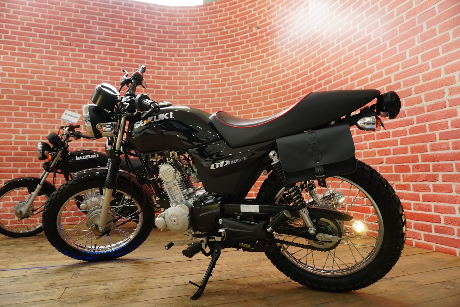 Suzuki GD110 là lựa chọn hợp túi tiền với người Việt