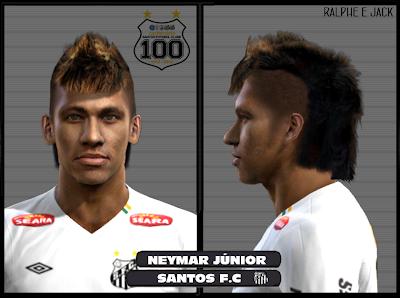 NeymarRalphePES2012 PES 2012: Face Neymar Jr.