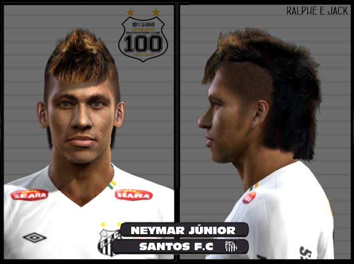 Neymar Face - PES 2012