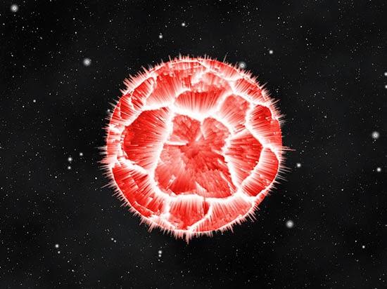 Planet meledak