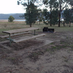 Picnic Table and fire pit